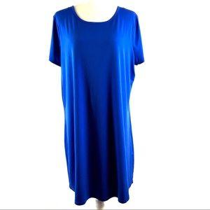 Michael Michael Kors Silky Blue Shift Dress